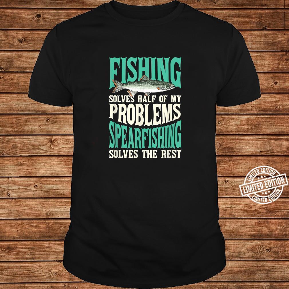 Fishing & Spearfishing Solve My Problems Fishing Shirt long sleeved