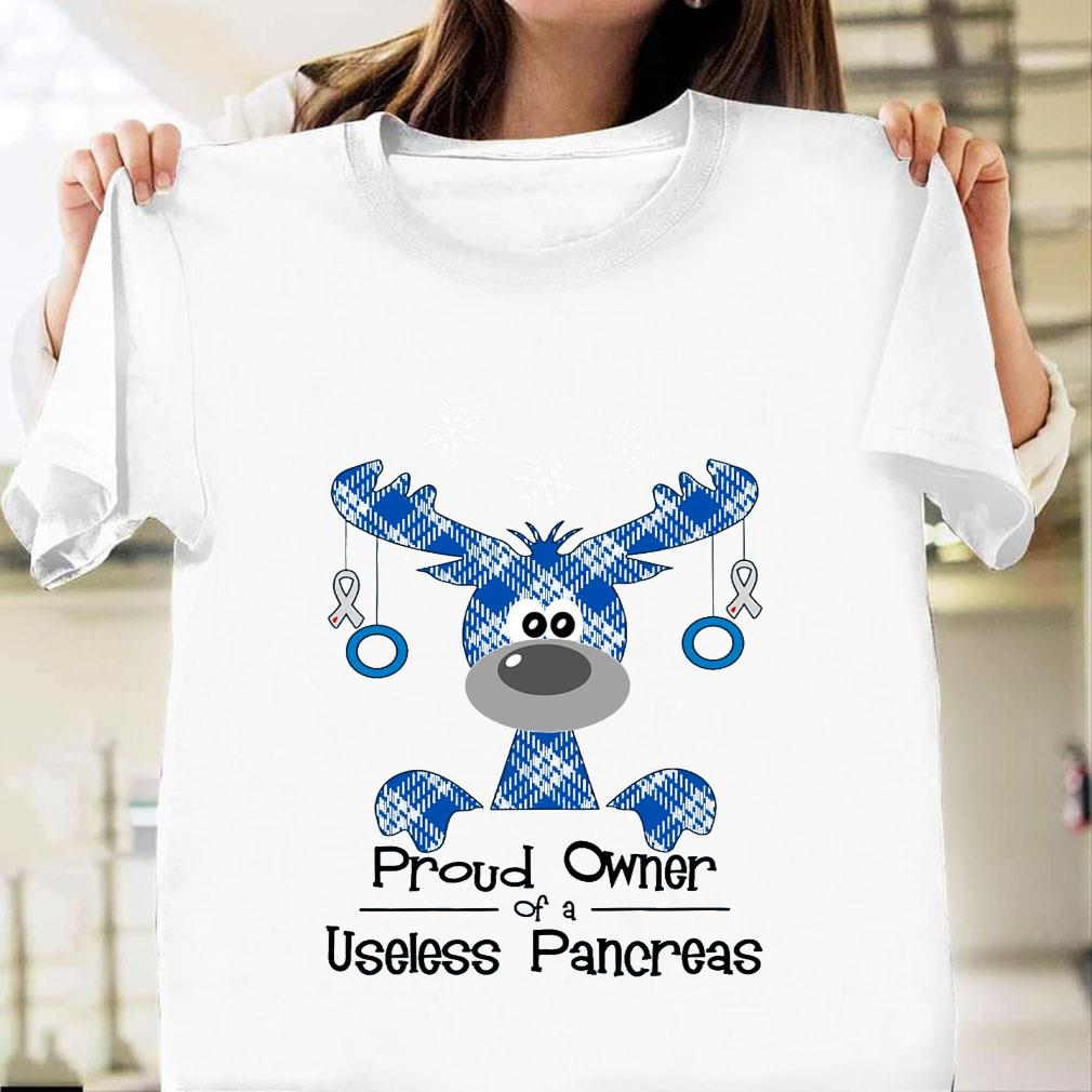 Proud owner of a useless pancreas shirt unisex
