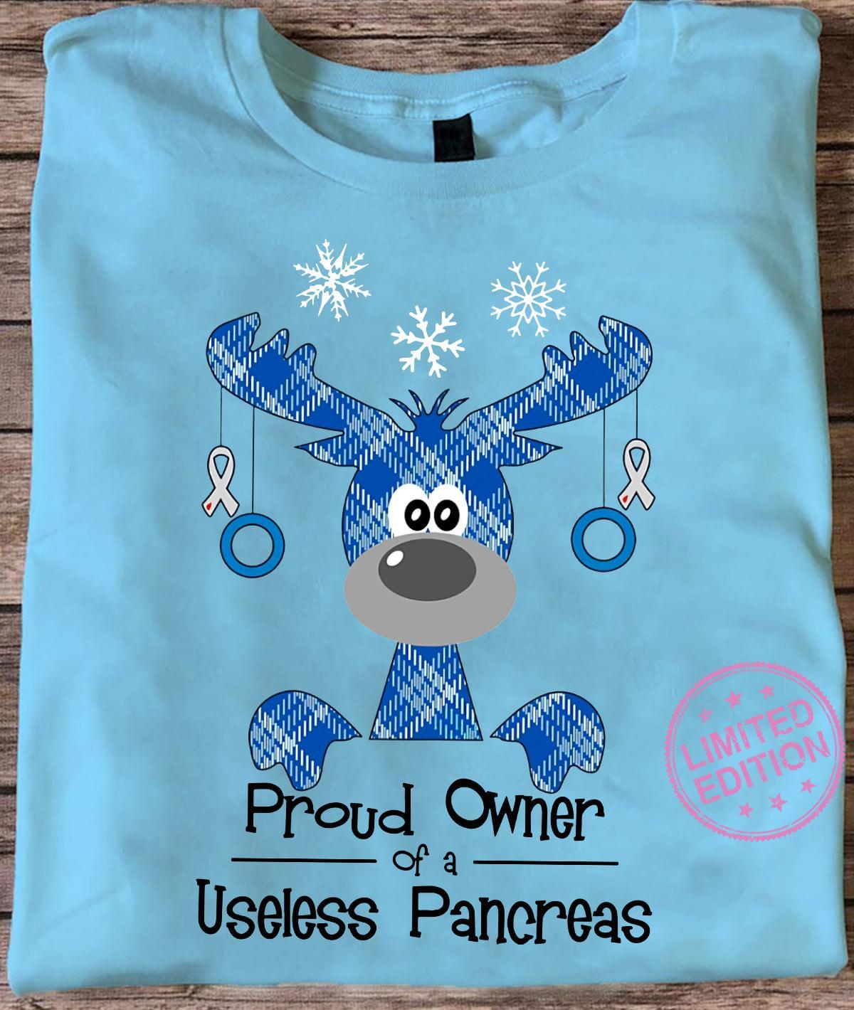 Proud owner of a useless pancreas shirt