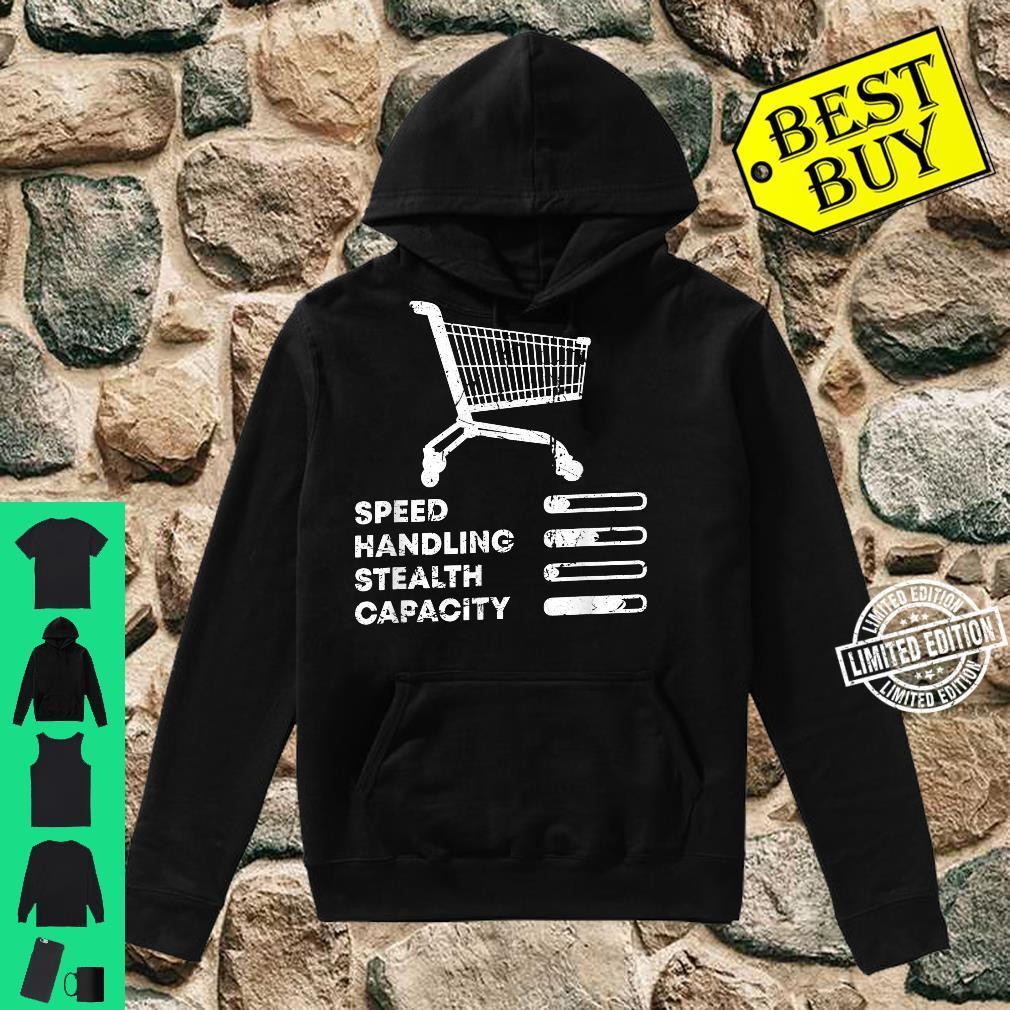 Shopping Cart Ranking Add To Cart Driver Racer Shopper Shirt hoodie