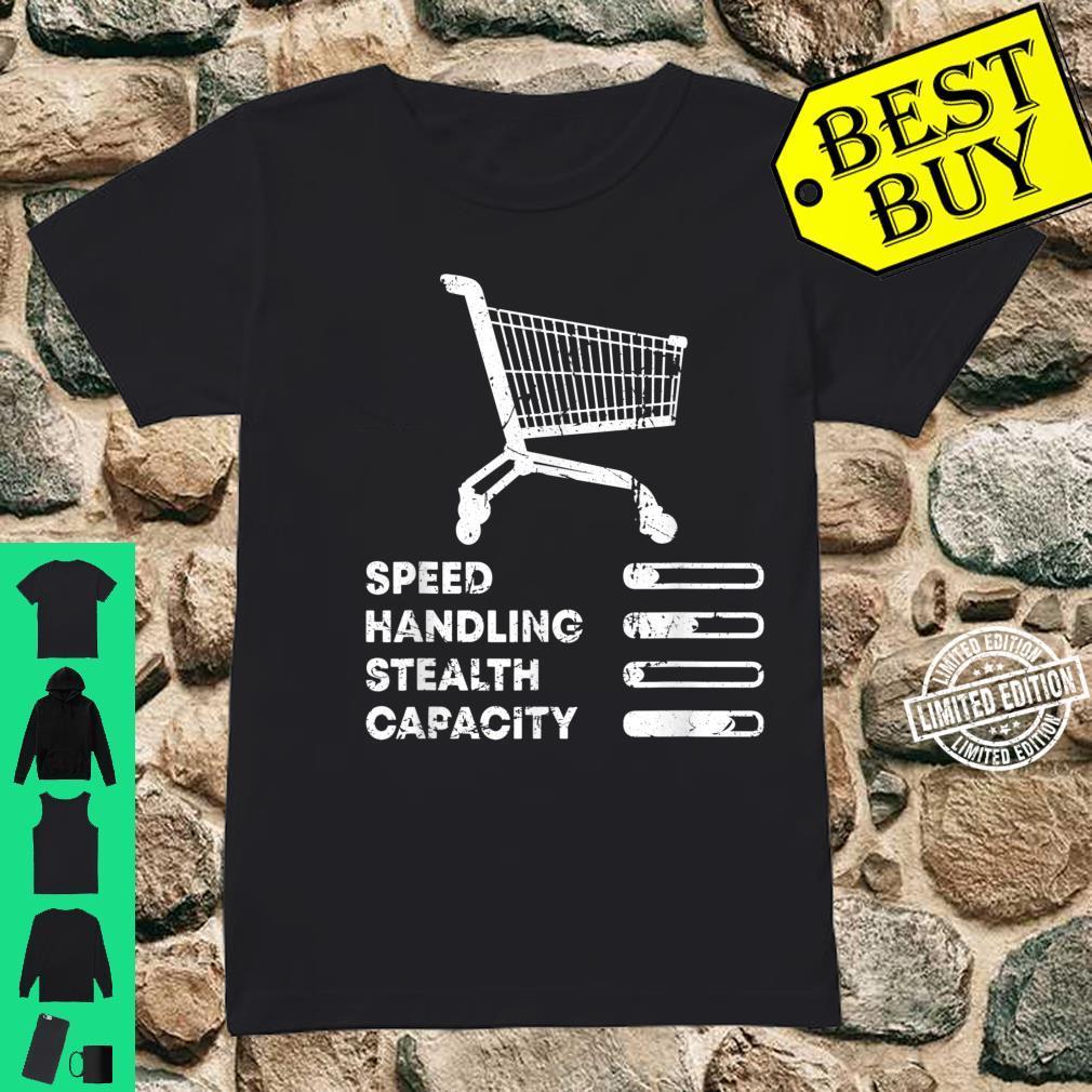 Shopping Cart Ranking Add To Cart Driver Racer Shopper Shirt ladies tee