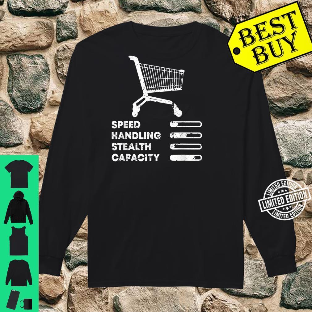 Shopping Cart Ranking Add To Cart Driver Racer Shopper Shirt long sleeved