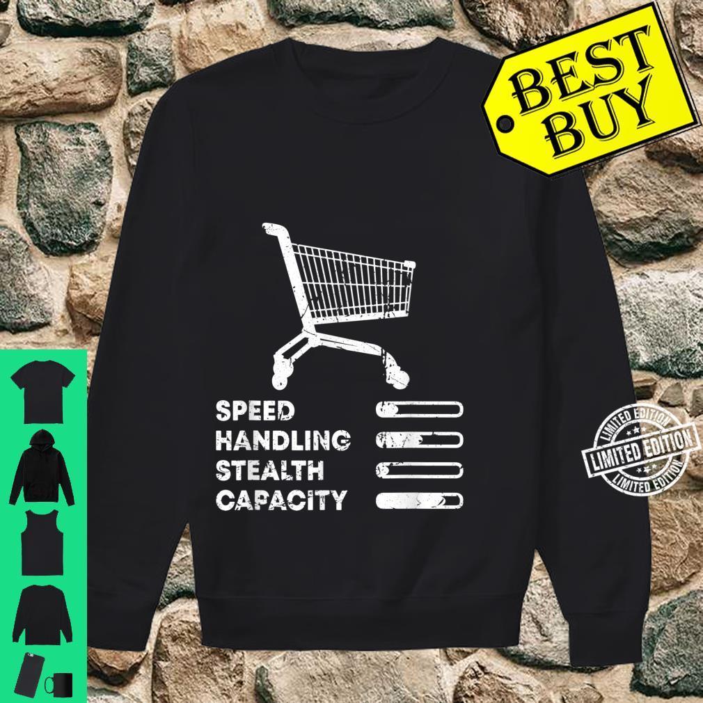 Shopping Cart Ranking Add To Cart Driver Racer Shopper Shirt sweater