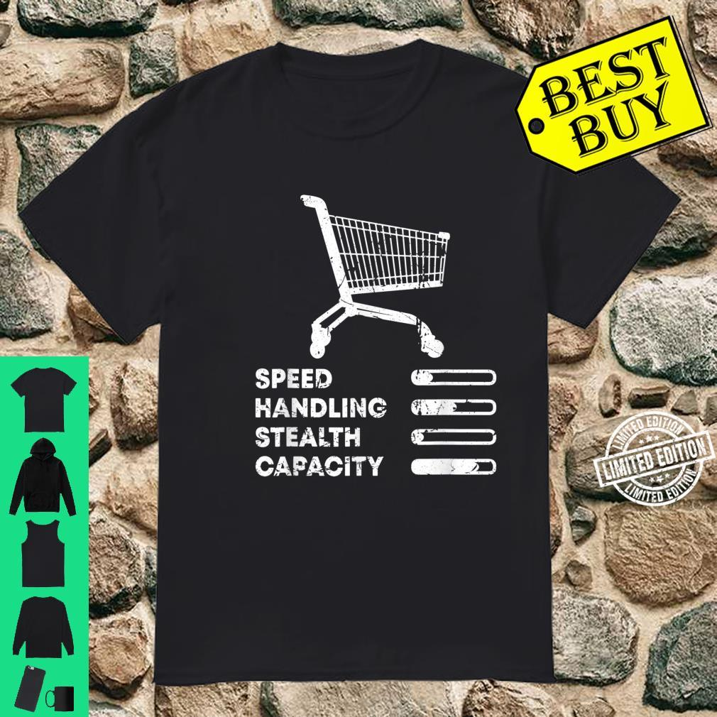 Shopping Cart Ranking Add To Cart Driver Racer Shopper Shirt