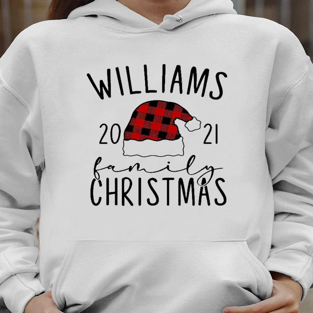 Williams 2021 family christmas shirt hoodie