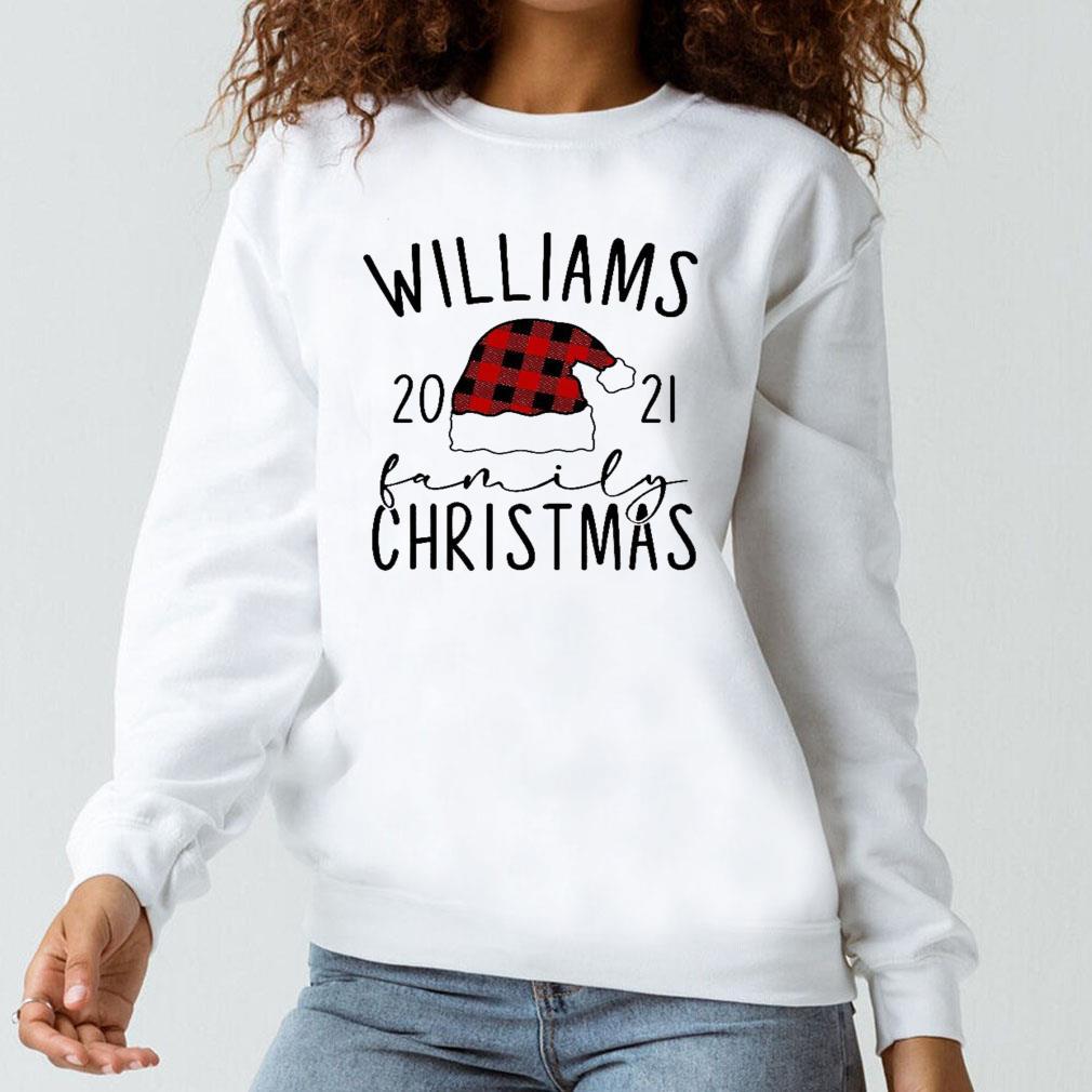 Williams 2021 family christmas shirt long sleeved