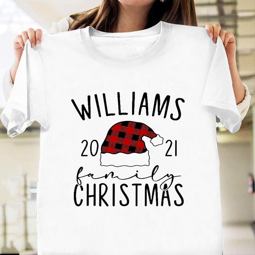 Williams 2021 family christmas shirt unisex