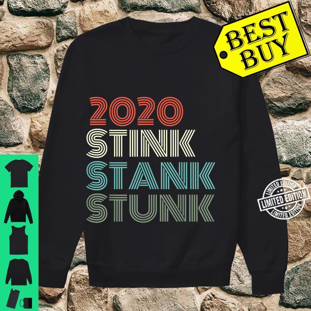 2020 Stink Stank Stunk Reto Vintage Family Christmas Pajamas Shirt sweater