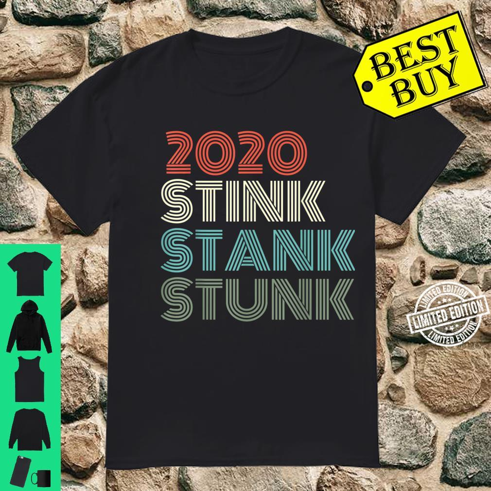 2020 Stink Stank Stunk Reto Vintage Family Christmas Pajamas Shirt