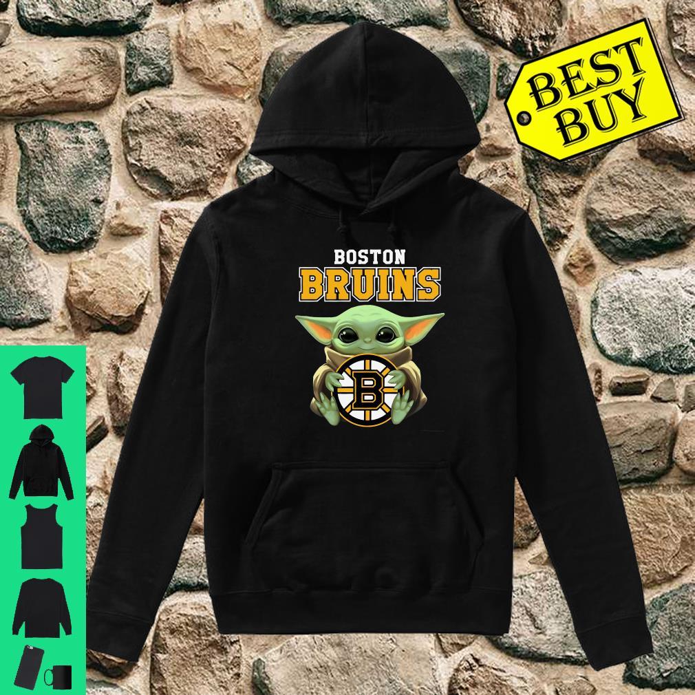 Baby Yoda Hug Boston Bruins shirt hoodie
