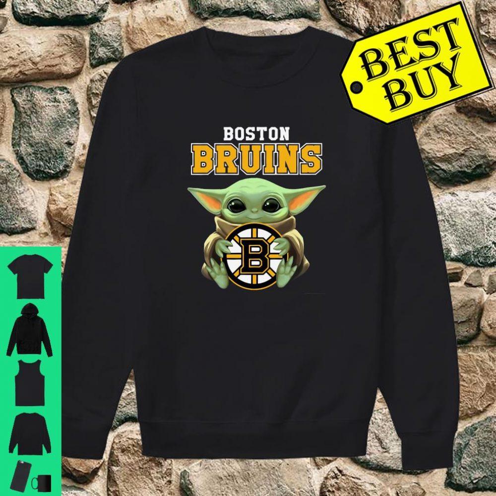 Baby Yoda Hug Boston Bruins shirt sweater