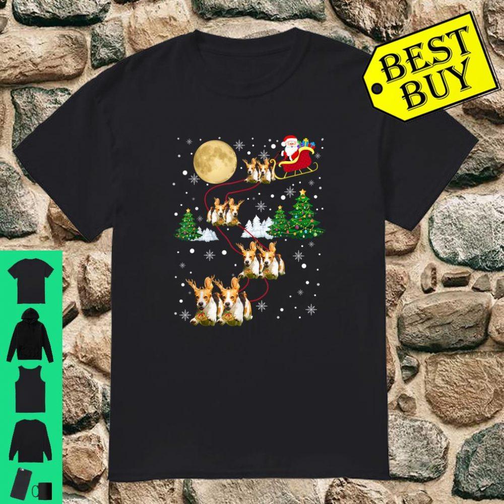 Beagle Dogs Tree Christmas shirt