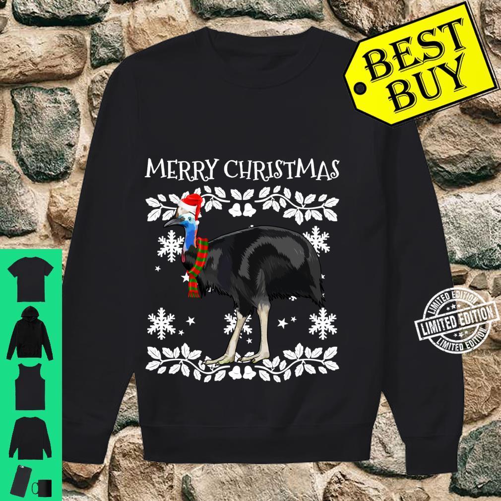 Bird Merry Christmas Ornament Cassowary Ugly Xmas Shirt sweater