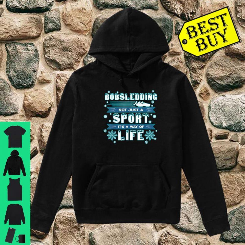 Bobsledding Winter Sports - Skeleton Bobsledder shirt hoodie