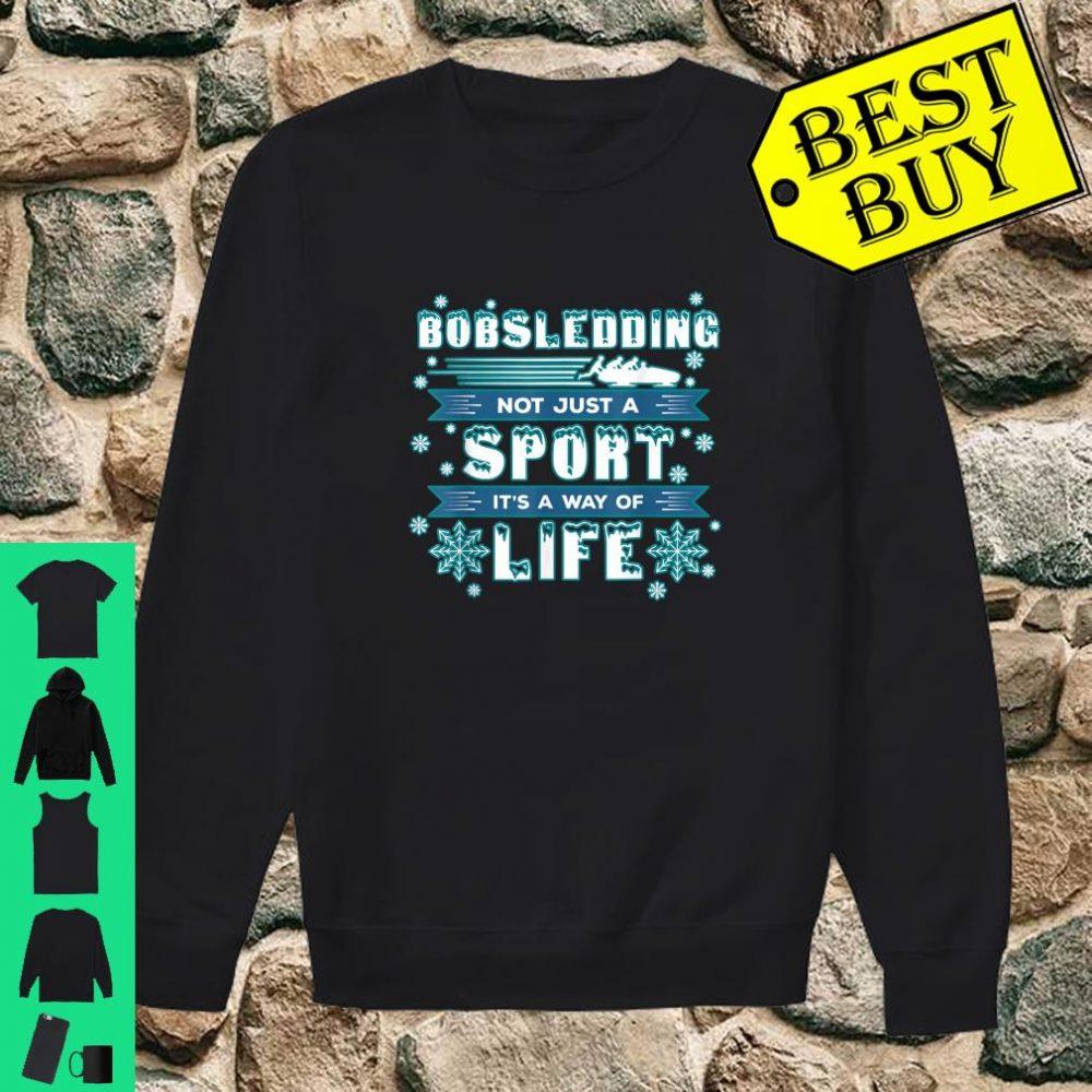 Bobsledding Winter Sports - Skeleton Bobsledder shirt sweater