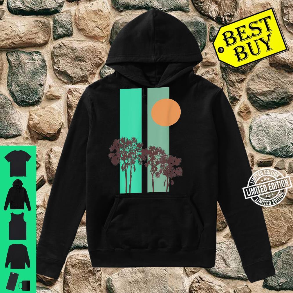 California motif Shirt hoodie
