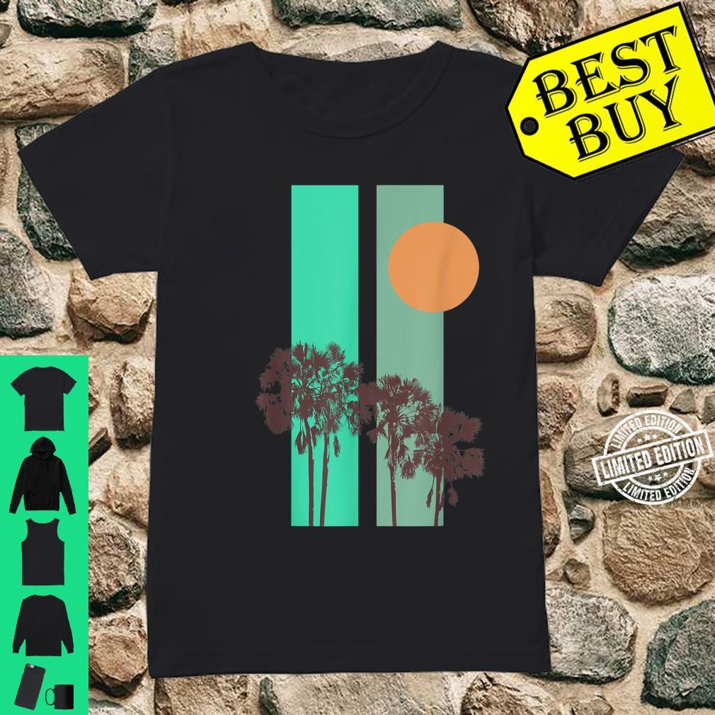 California motif Shirt ladies tee
