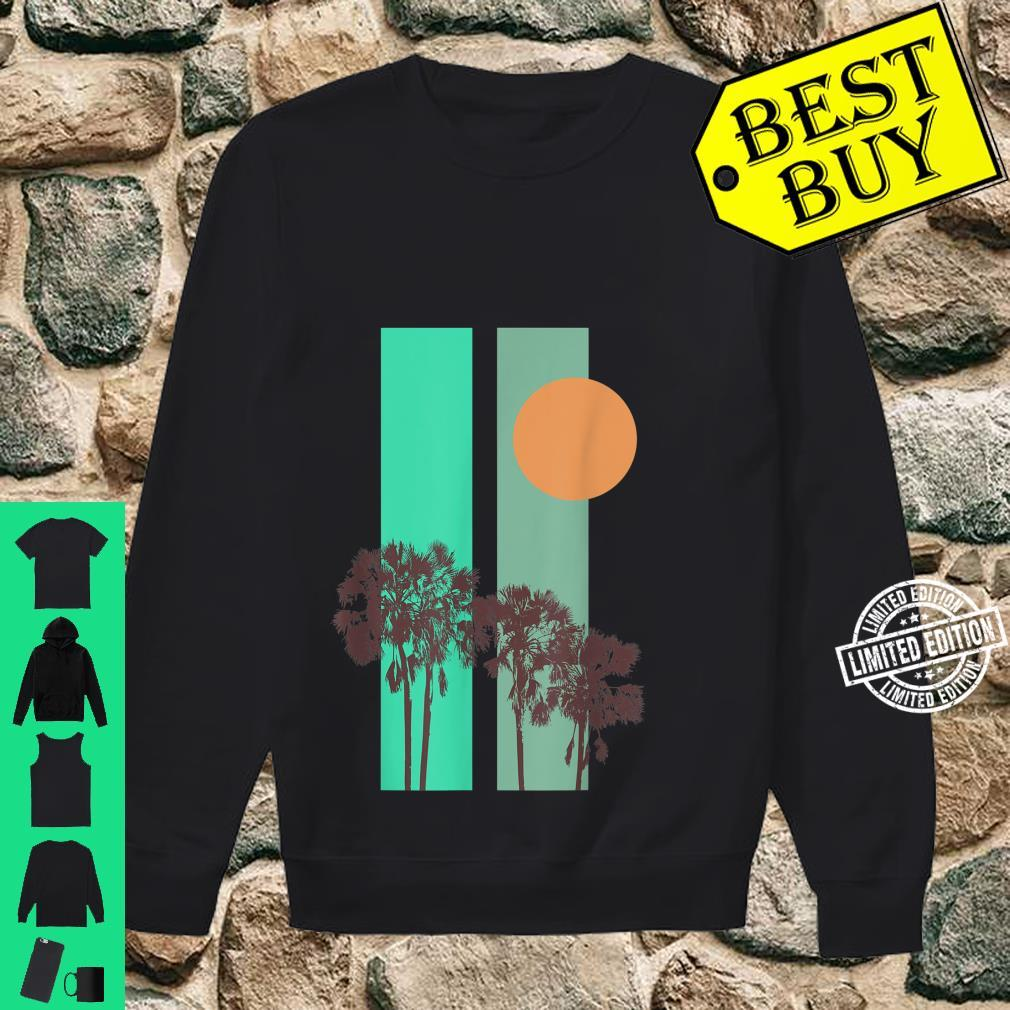 California motif Shirt sweater
