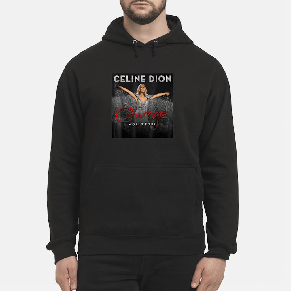 Celine Dion courage world tour shirt hoodie
