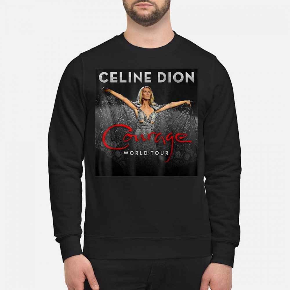 Celine Dion courage world tour shirt sweater