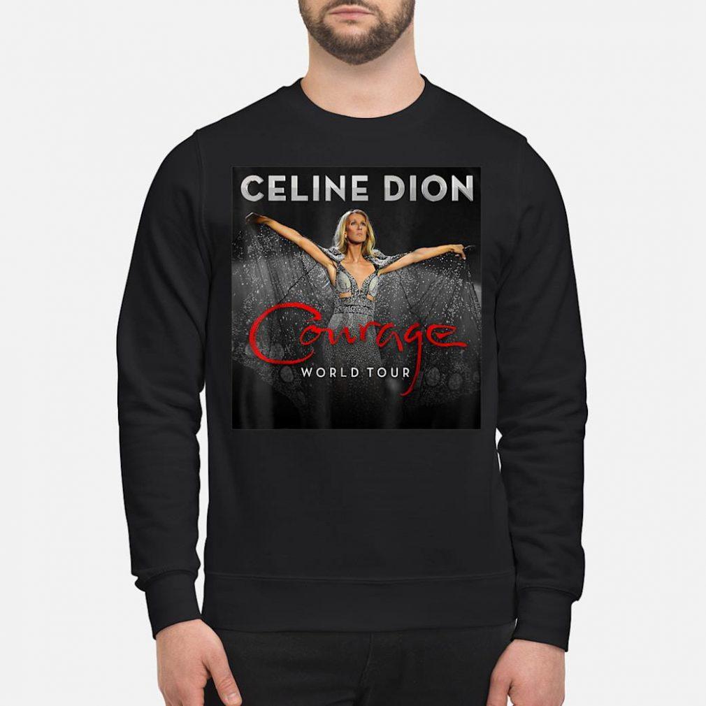 Celine Dion courage world tour shirt sweater