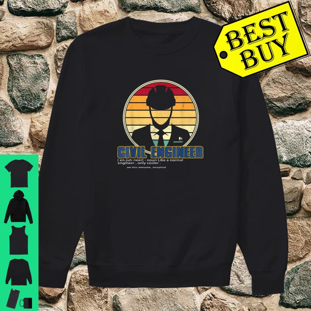 Civil Engineer Definition Engineering shirt sweater
