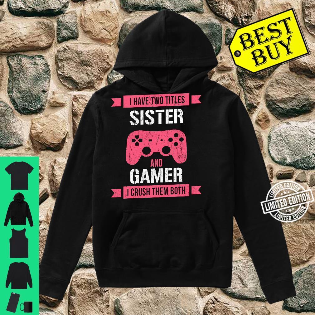 Funny Gamer Vintage Video Games For Girls Shirt hoodie