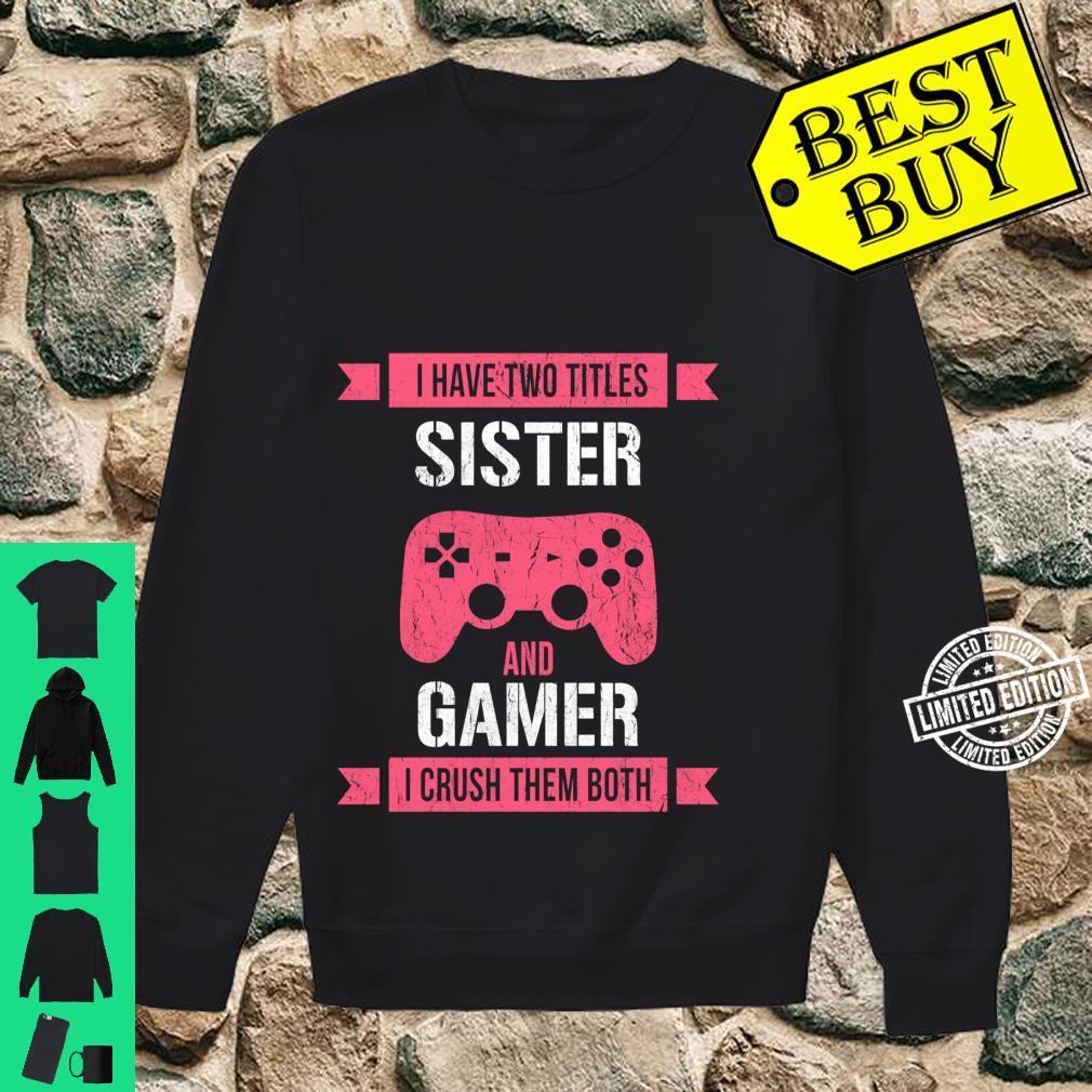 Funny Gamer Vintage Video Games For Girls Shirt sweater