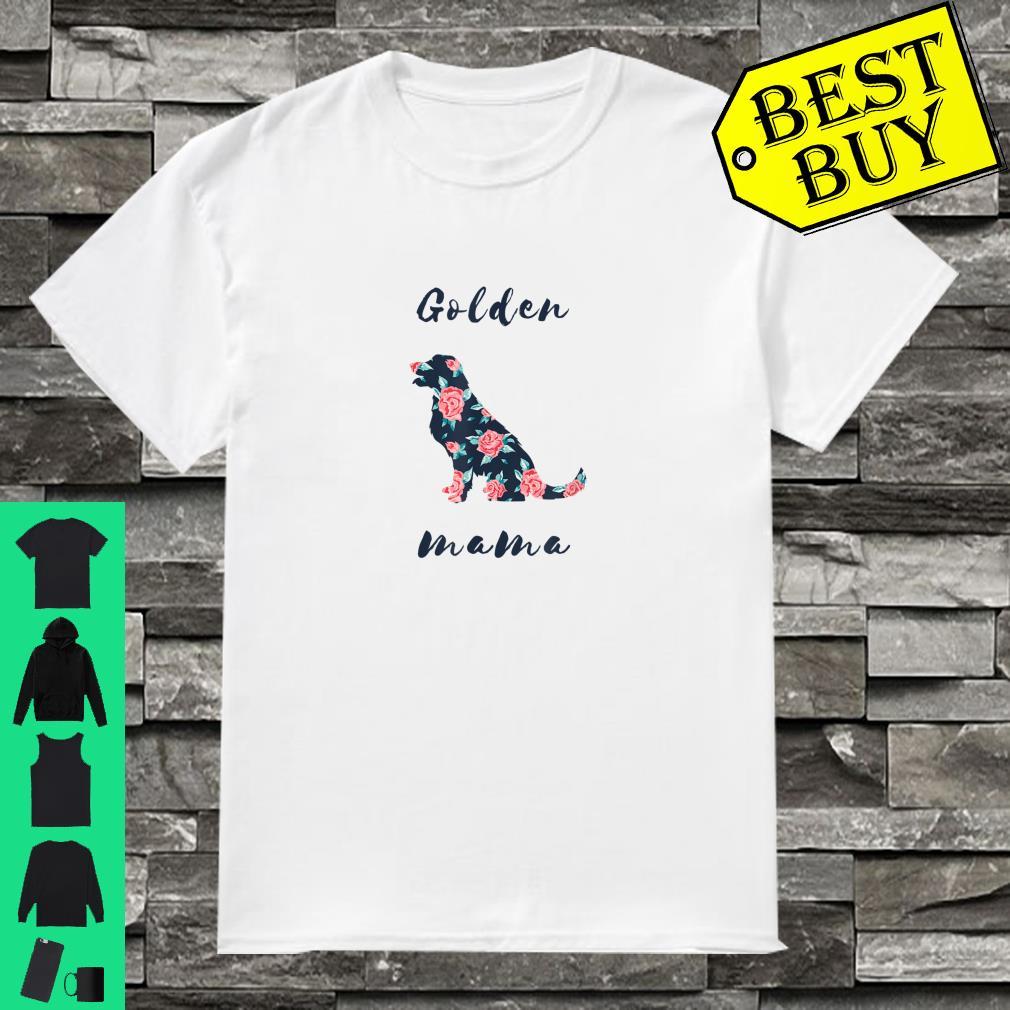 Golden Retriever Dog Mom shirt
