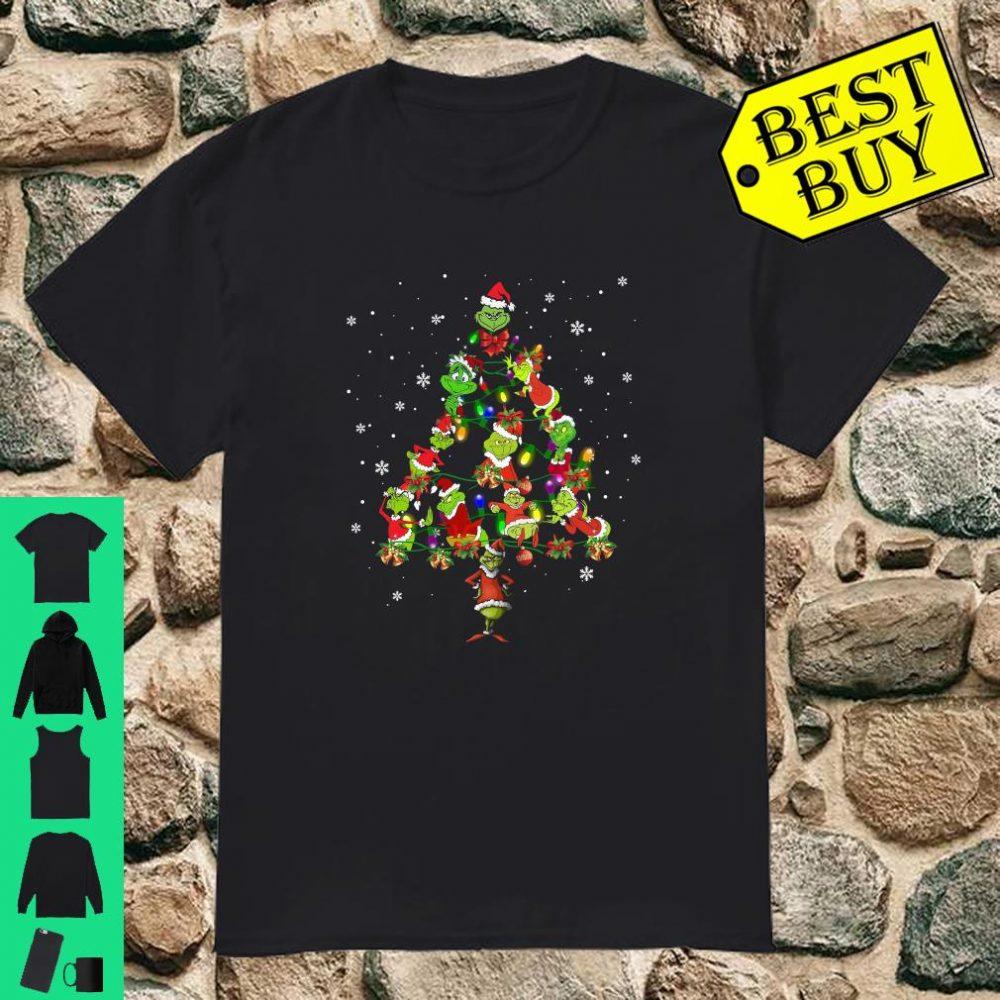 Grinch Christmas Tree shirt