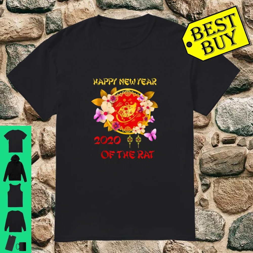 Happy Chinese New Year 2020 Year of The Rat shirt