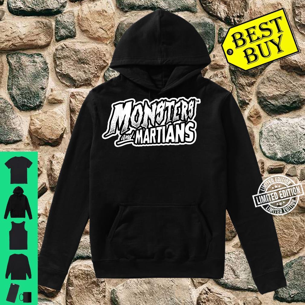 Horror Art Monsters & Martians Logo Psychobilly Punk Art Shirt hoodie