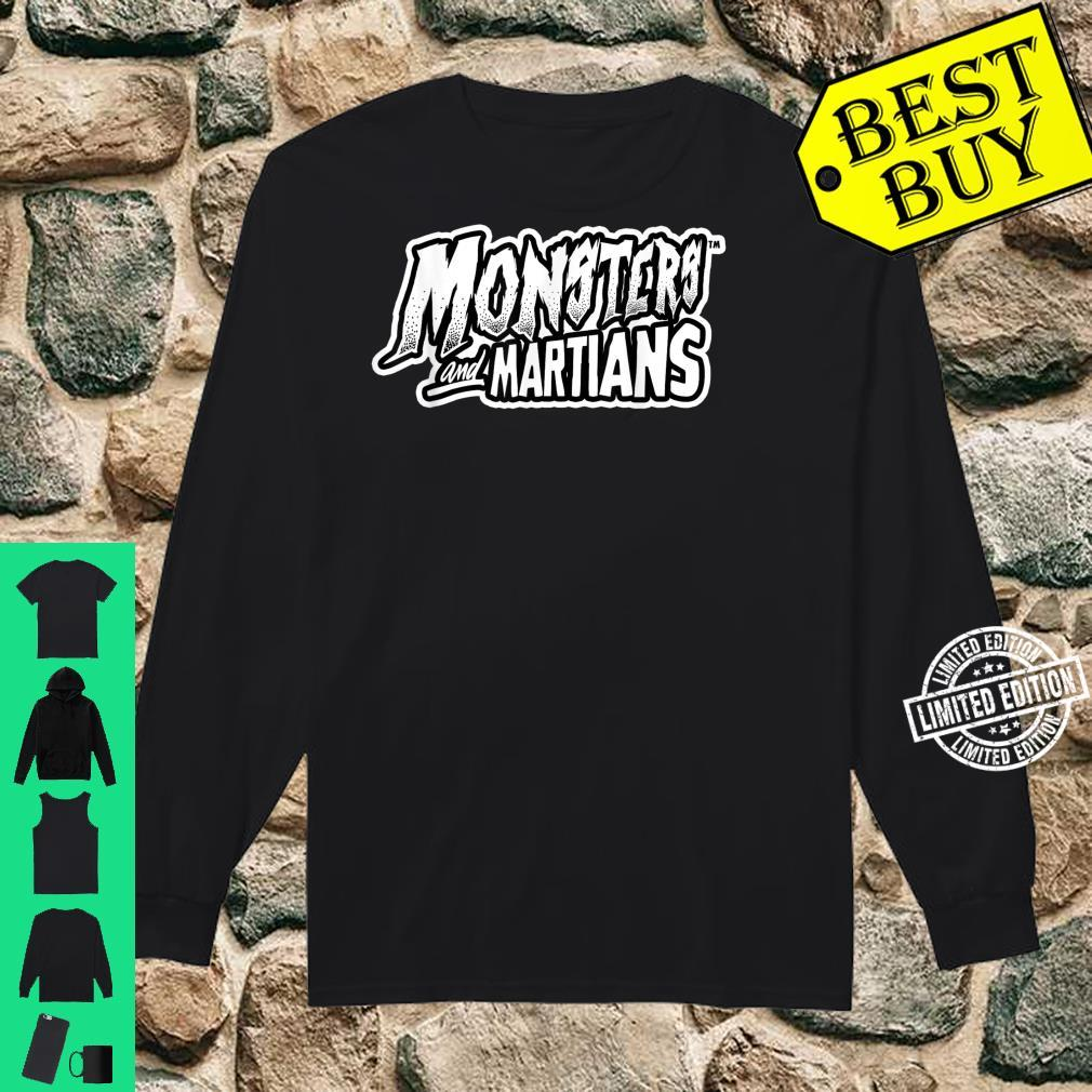 Horror Art Monsters & Martians Logo Psychobilly Punk Art Shirt long sleeved