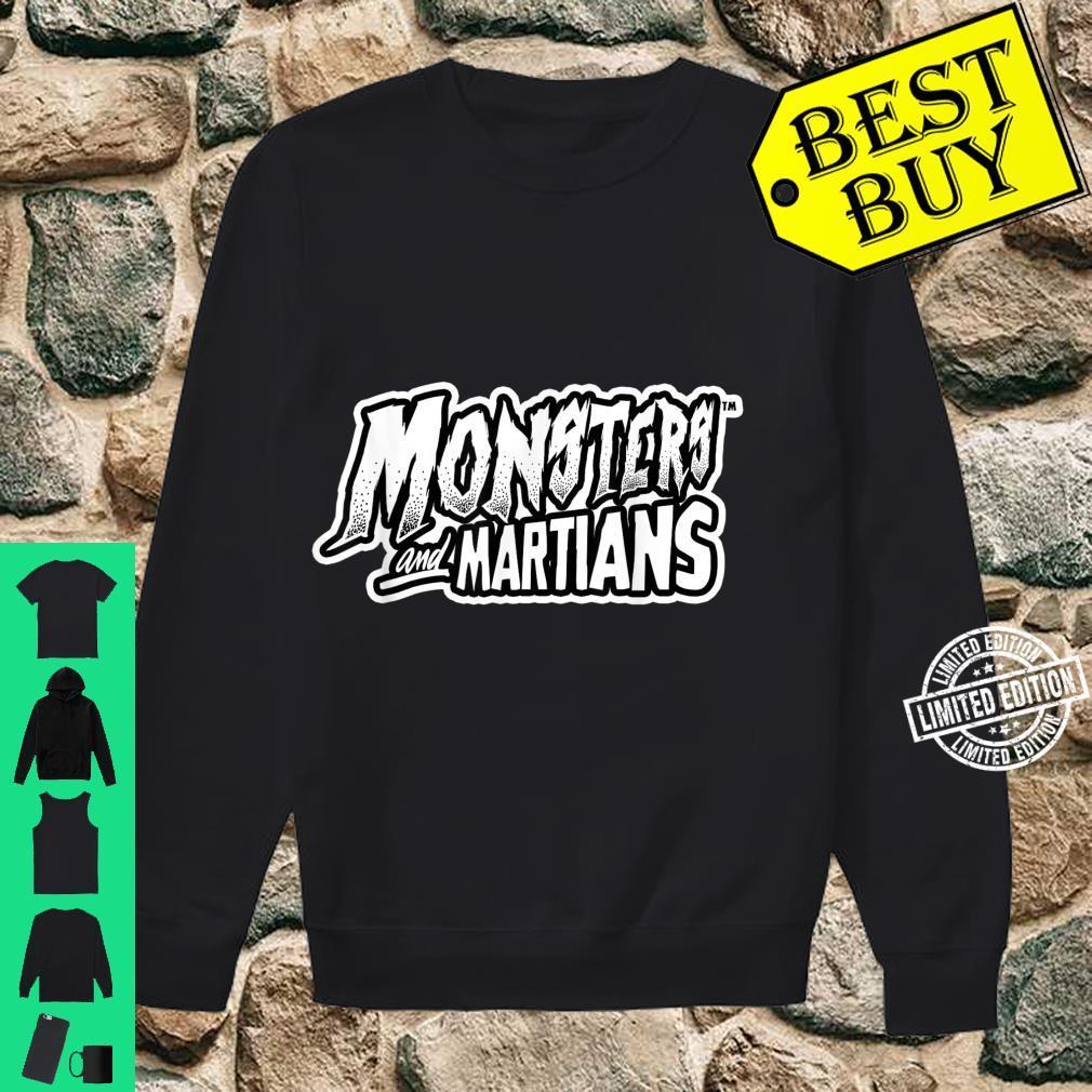 Horror Art Monsters & Martians Logo Psychobilly Punk Art Shirt sweater