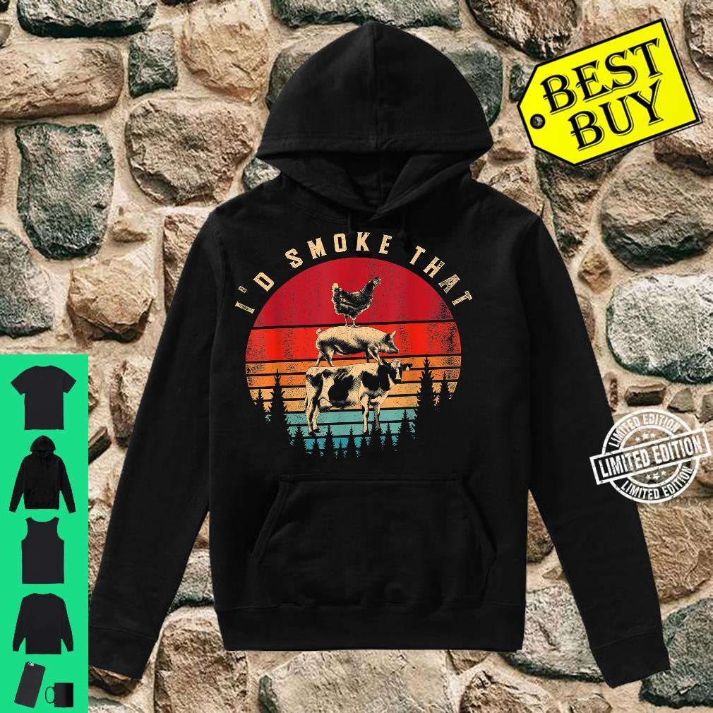 Id Smoke That Smoked Meat BBQ Chef Barbecue Shirt hoodie