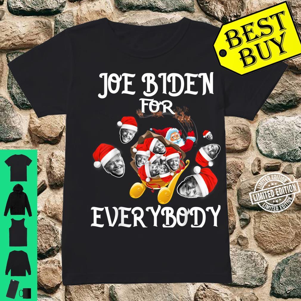 Joe Biden For Everybody Shirt ladies tee
