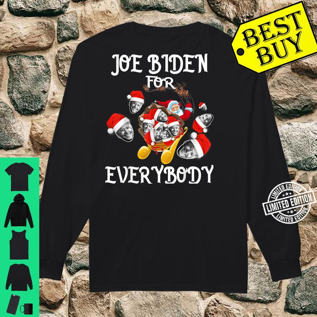 Joe Biden For Everybody Shirt long sleeved