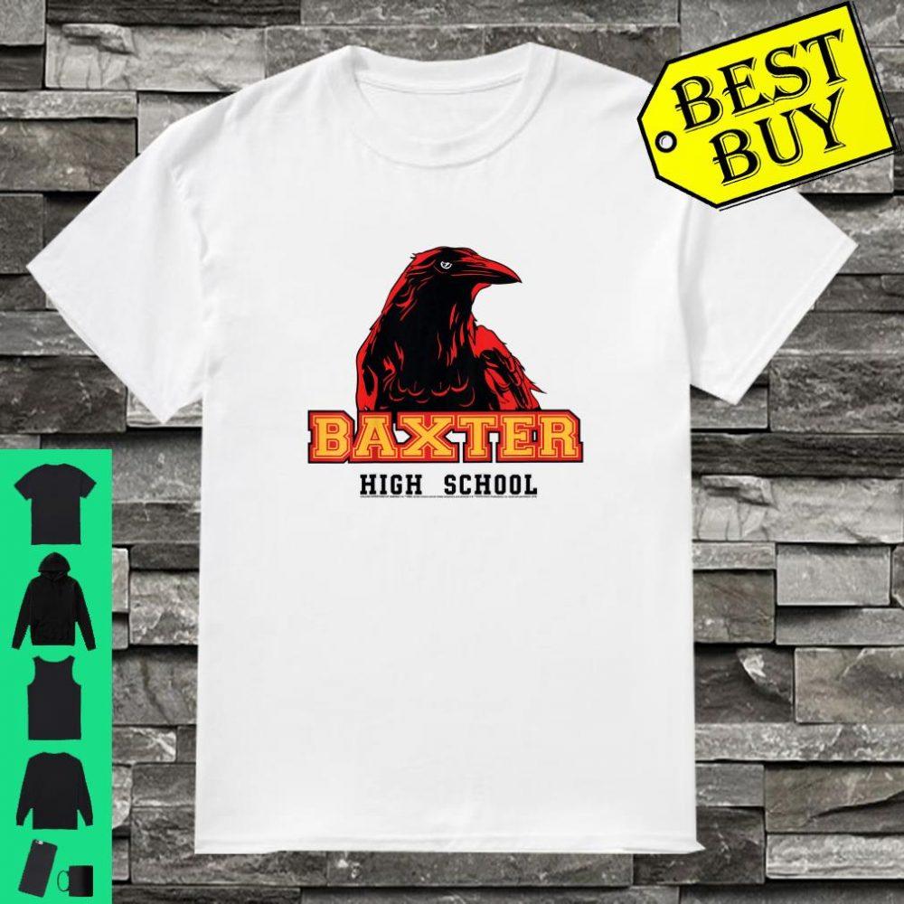 Kids The Chilling Adventures Of Sabrina Baxter High School Crow shirt