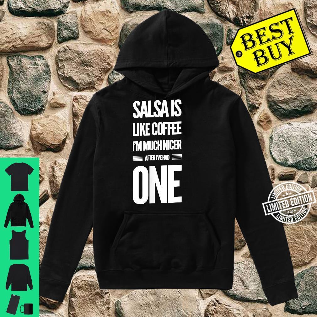 Lustiges Salsa Tanz Shirt hoodie