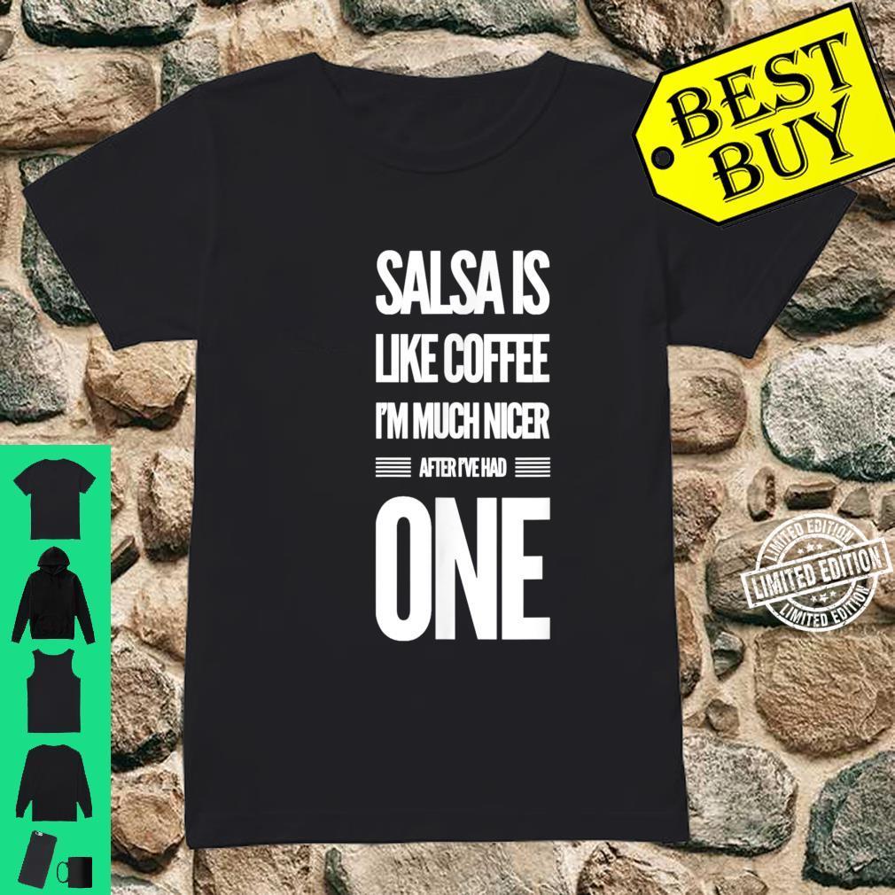 Lustiges Salsa Tanz Shirt ladies tee