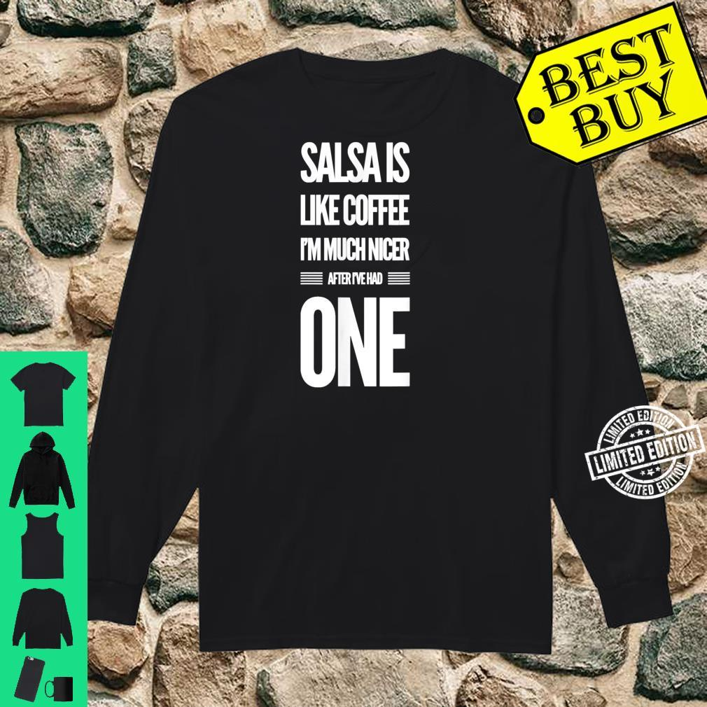 Lustiges Salsa Tanz Shirt long sleeved