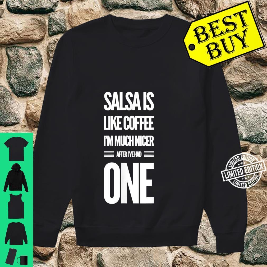 Lustiges Salsa Tanz Shirt sweater