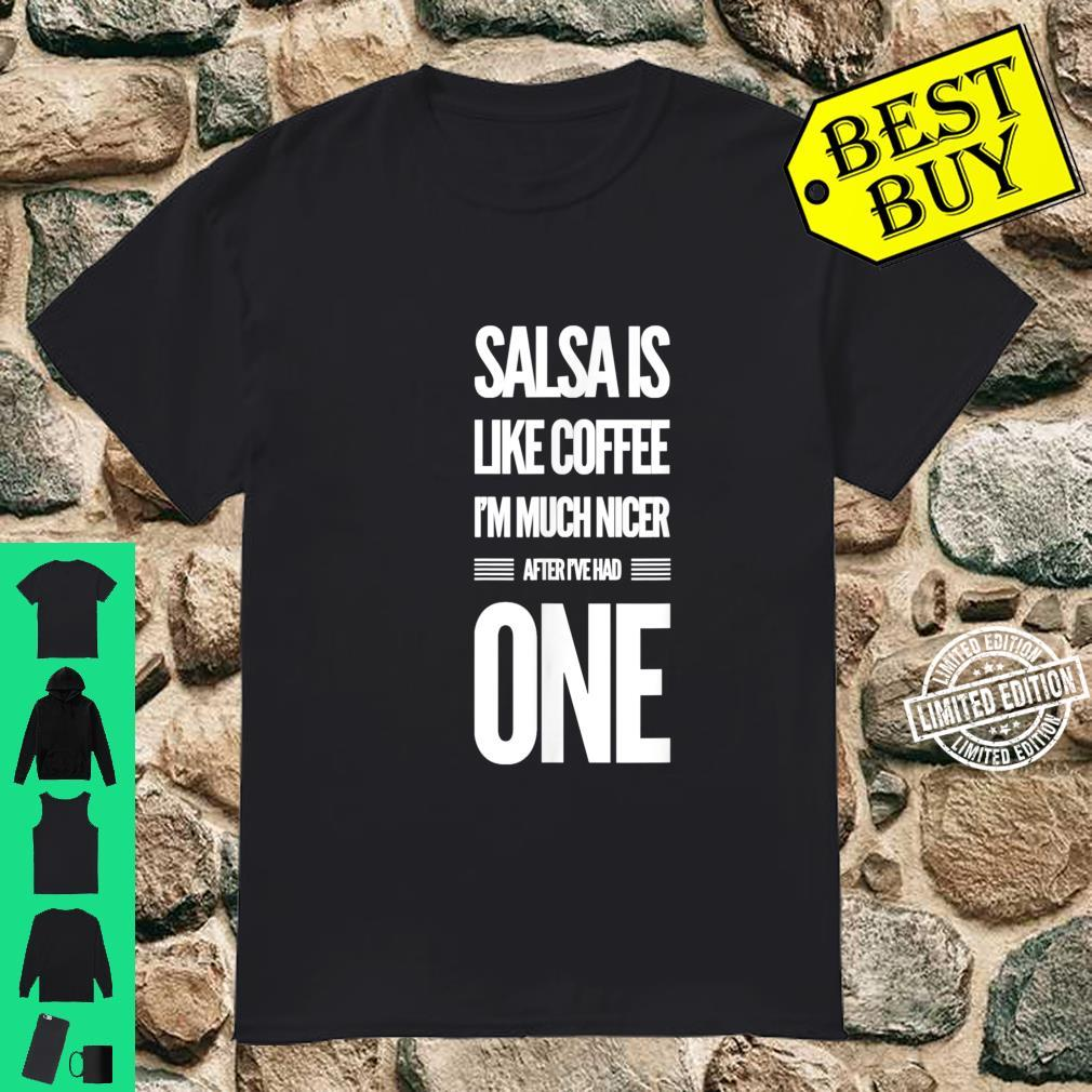 Lustiges Salsa Tanz Shirt