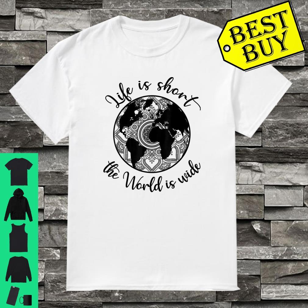 NO RACISM Weltkarte in Herzform World of Love T-Shirt Sweatshirt