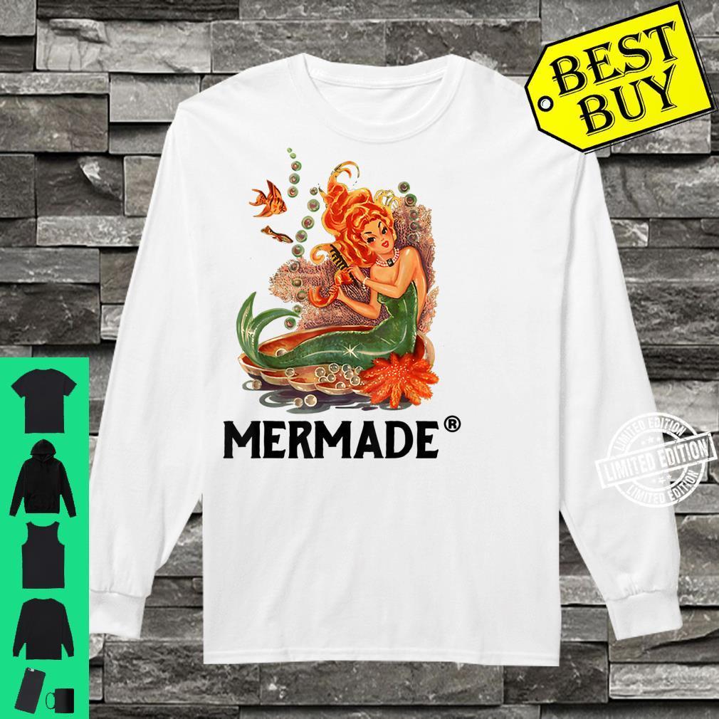 Mermaid Mermade Mermade Mermaid Shirt long sleeved