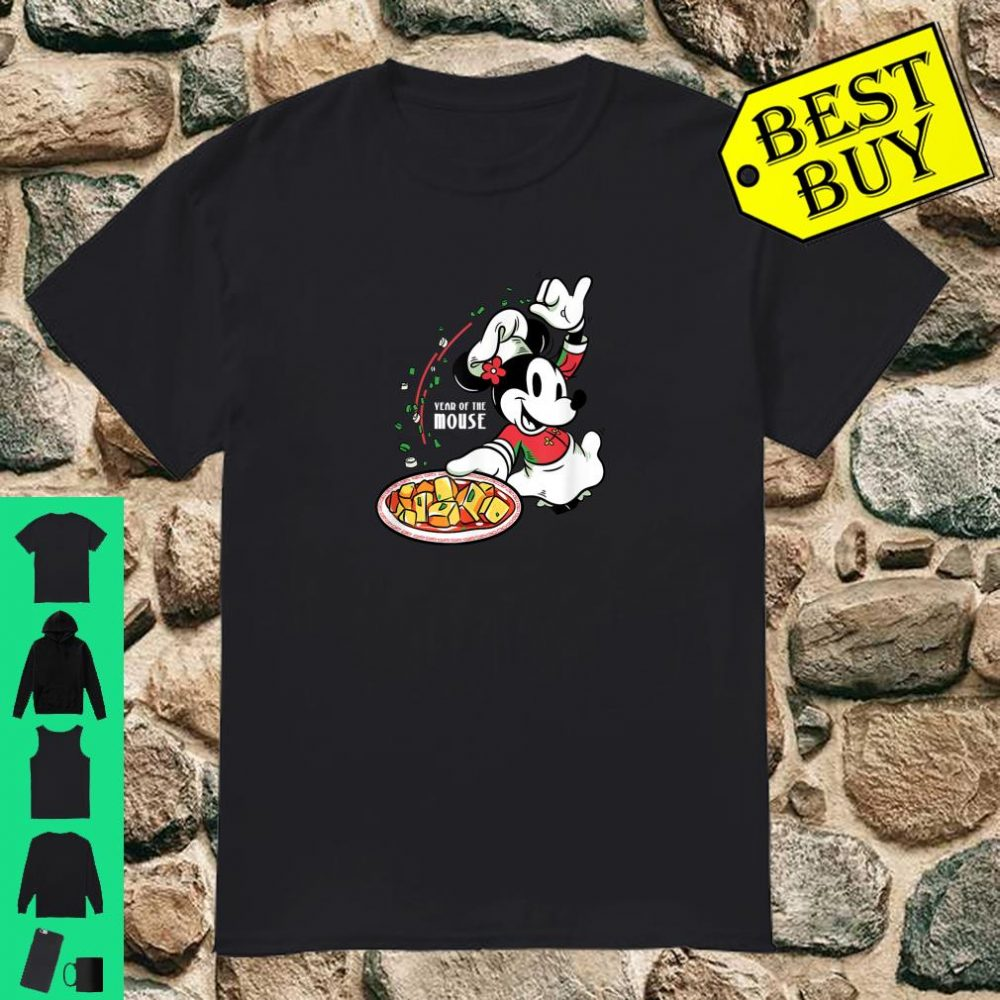 Minnie Mouse Chef Minnie Year of the Mouse Chinese New Year Shirt