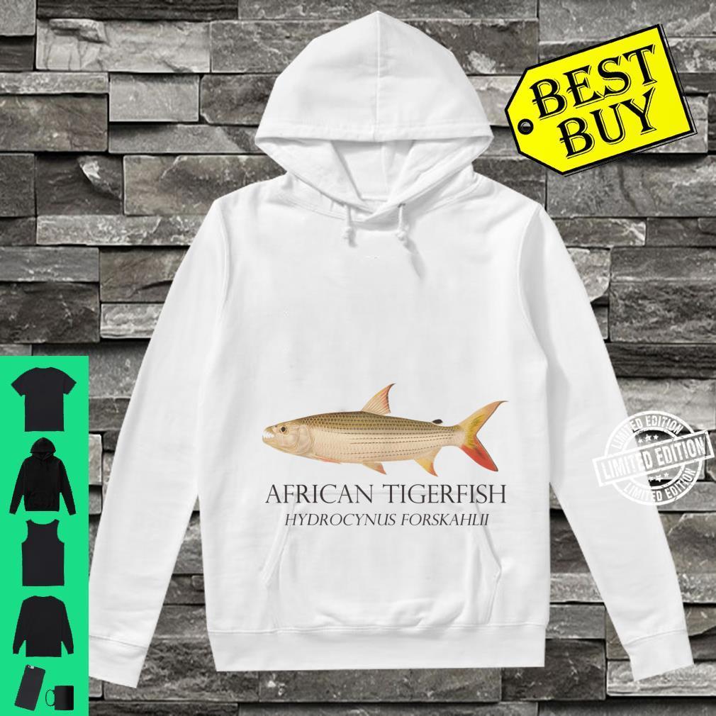 Monster Fish Keeper African Tiger Fish Hydrocynus Aquarium Shirt hoodie
