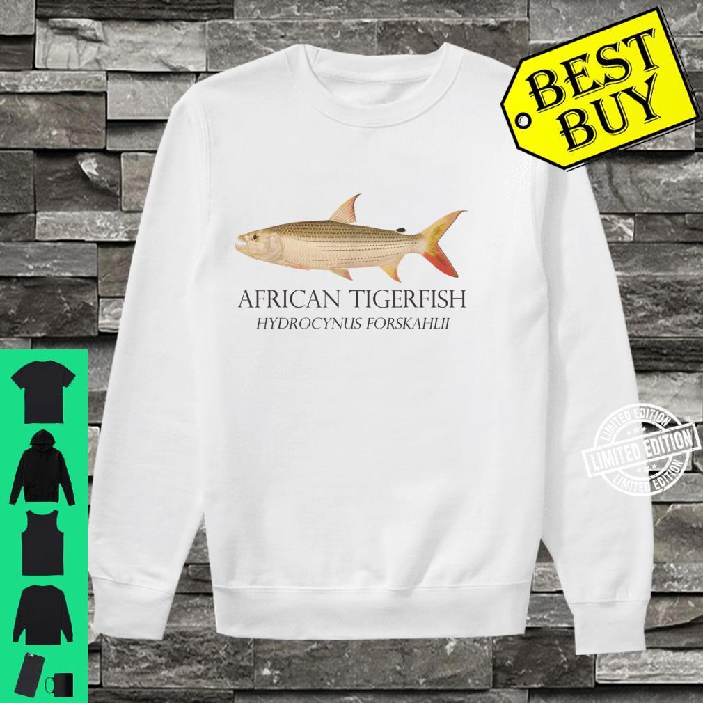 Monster Fish Keeper African Tiger Fish Hydrocynus Aquarium Shirt sweater