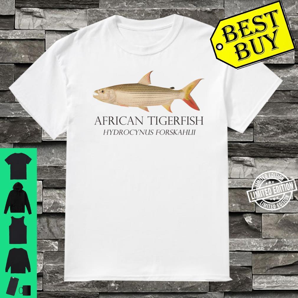 Monster Fish Keeper African Tiger Fish Hydrocynus Aquarium Shirt