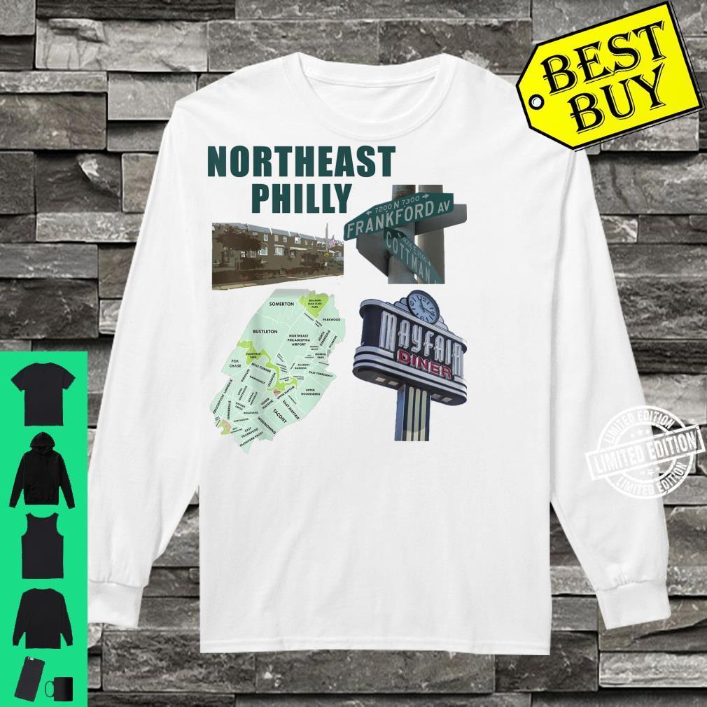 Northeast Philadelphia featuring philly mayfair diner NE Shirt long sleeved
